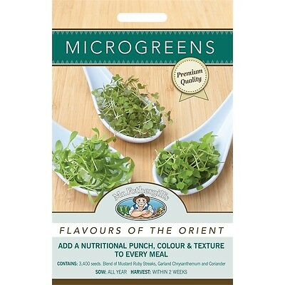 Mr Fothergill's Microgreens Flavours Of The Orient