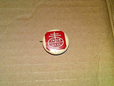 Vintage Nabisco National Biscuit Company Inner Seal Trademark Pin