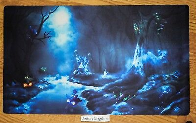 Custom Yugioh CARDFIGHT VANGUARD MTG WOW Playmat Cool Pokemon Ghost Theme #680