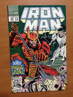 Iron Man #281 1st Appearance of War Machine Armor Key Issue