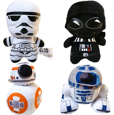 Star Wars The Force Awakens Kylo Ren Storm Trooper Darth Vader Plush Toys Dolls