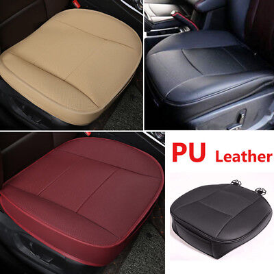 Car Seat Cover Protector PU Leather Deluxe Cushion Front Seat Universal 3 Color