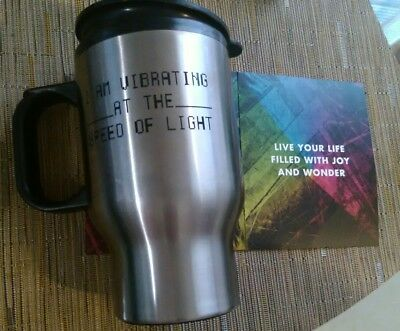 R.E.M. I AM VIBRATING AT THE SPEED OF LIGHT Tour 2003 Official Insulated Mug NEW