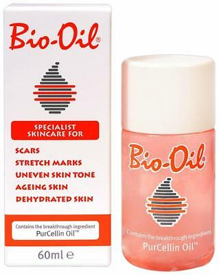 Bio Oil 60ml For Stretch Marks,Uneven and Ageing Skin Free Shipping