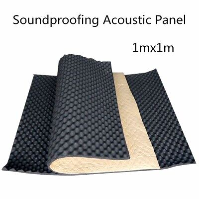 Soundproofing Acoustic KTV Studio Wall Foam Wedge Tiles Board Panel Shield 1mx1m