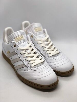 ADIDAS Busenitz 10 Year Anniversary (F37872) Men s Sneakers Size 12.5  White Gold a2fa88456