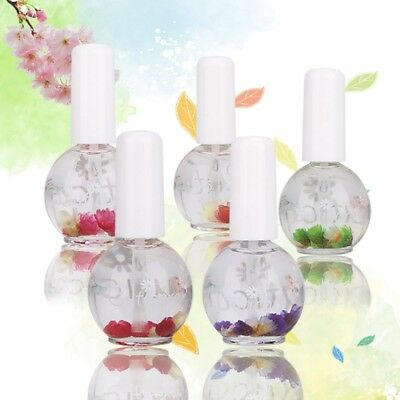 Nutrition Nail Cuticle Replenishing Oil Rose Lavender Dried Flower Scent 1pc