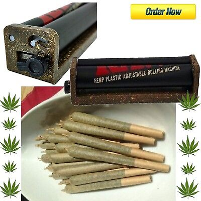 King Size 110mm Joint Roller Machine Blunt Fast Cigar Rolling Cigarette Weed Raw