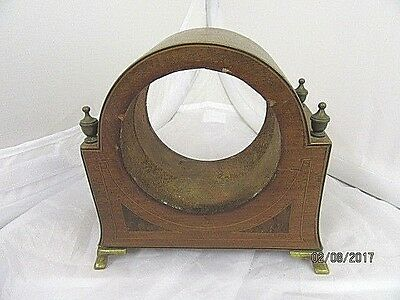 Wooden Mantel Clock Case Only