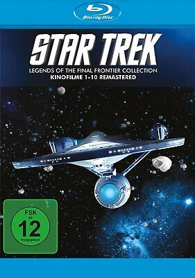 Star Trek 1-10 - Legends of the Final Frontier Collection # 10-BLU-RAY-BOX-NEU