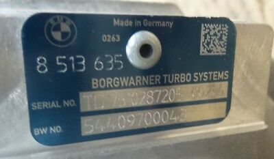 Turbocharger BMW 8513635