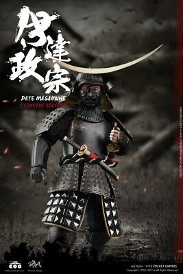 Coomodel Pe006 1/12 Palm Empires Date Masamune Standard Edition Figure New