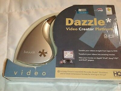 Pinnacle Dazzle Video Creator Platinum Video Transfer Unit