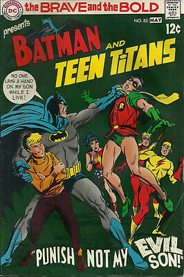 Brave and the Bold #83 (DC Comics, May 1969) 5.5 F-  Teen Titans