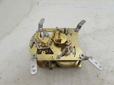 Vintage Smiths Clock Movement F6G 584 With Floating Balance For Spares/Repairs