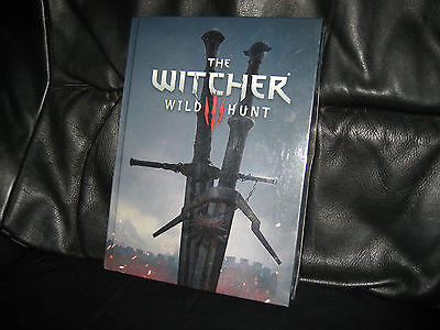 The Witcher 3 Wild Hunt Collectors edition strategy guide SEALED ripped wrapping