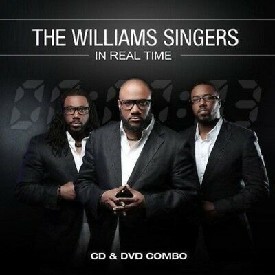 Williams Singers - in Real Time - CD/DVD combo -  New