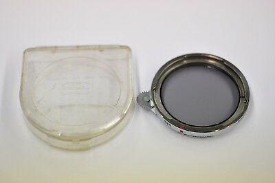 Zeiss Ikon B56 Contapol 3X Polarizer with plastic case