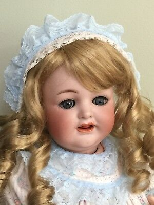 Antique Bisque Doll K*R Simon Halbig 126 Comp Body 17""