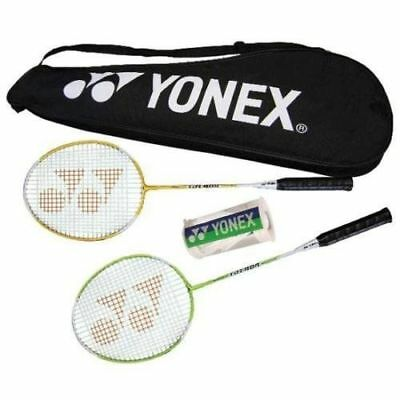 Yonex Badminton Racket Combination Package COMBO Set Recreational 2 Player NEW