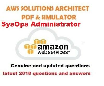 AWS Certified SysOps Administrator  verified exams questions pdf & simulator