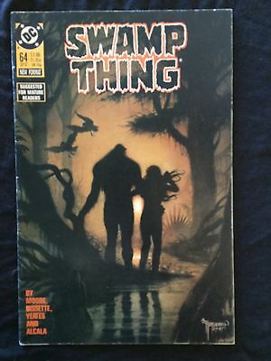 Swamp Thing #64 (DC, Sept. 1987) Final Alan Moore Issue!