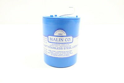 Malin 52-0105 Aircraft Stainless Steel Lockwire 1lb .041in