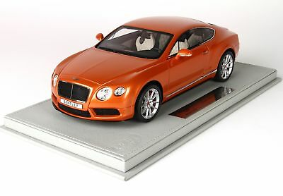 Bentley Continental Gt V8-S Coupe 2014 + Vetrina With Showcase BBR 1:18 P1886DV