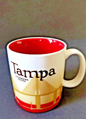 Starbucks Tampa Collector Series 2009 Mug 16 Ounce