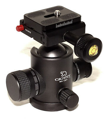 Giottos MH-1301 Pro Series II Ballhead with Arca-Swiss Compatible Quick Release