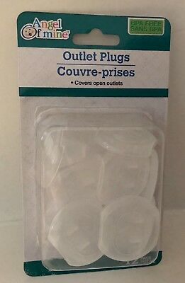 OUTLET COVER PLUGS Baby Toddler Safety Protector Sockets Electric Shock 12PK