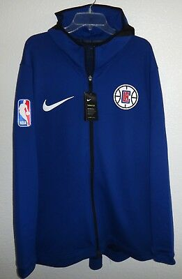 74f5a5d9e Nwt Mens Xxl Nike Dri-Fit La Clippers Therma Flex Showtime Hoodie Nba  Basketball