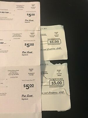 Similac And Enfamil Expired Checks Value $25