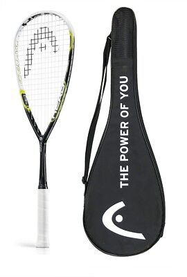 HEAD Graphene Cyano 115 Squash Racket + Cover RRP £180