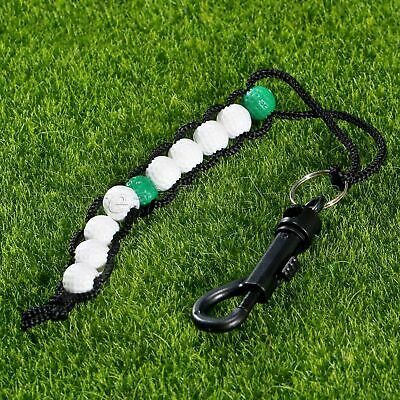 Plastic Bead Score Counter White & Green Beads For Effective Way Keep Your Score