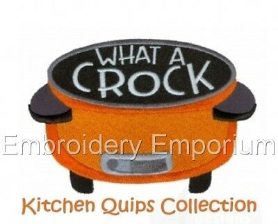 Kitchen Quips Collection - Machine Embroidery Designs On Cd