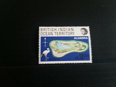 British Indian Ocean Territory 1969 Sg 31 Coral Atolls Mnh   (G)