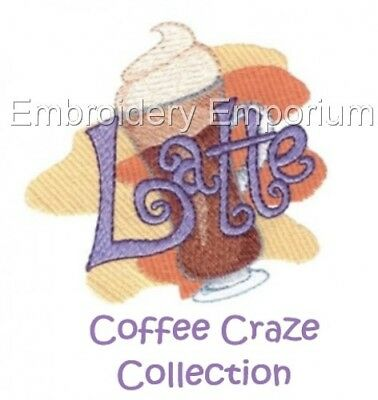 Coffee Craze Collection - Machine Embroidery Designs On Cd