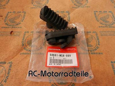 Honda XRV 650 750 Africa Twin Gummi Fußrastengummi Set original rubber step set