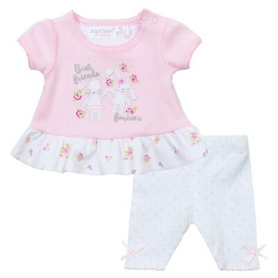 Premature Preemie Baby Girl  Tiny pink  T shirt  and  Leggings spotty 5 lb 7lb