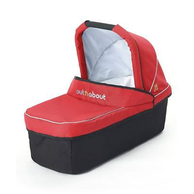 Brand new Out n About nipper single carrycot in Carnival Red for v2 v3 and V4