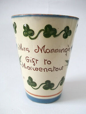 Mrs Manning's Gift To Morwenstow - 1902 C0Ronation Edward V11 - Watcombe Pottery