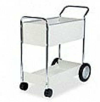 Fellowes Steel Mail Cart - 150 Folder Capacity