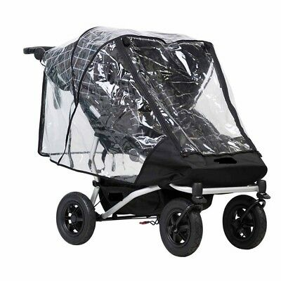 1stopbabystore Universal Raincover to fit Mountain buggy duet double buggy