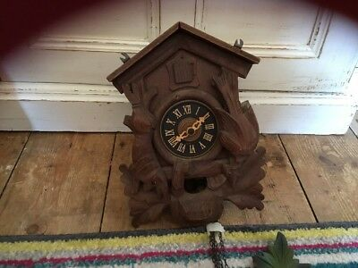 West German Cuckoo Clock For Spares Repair