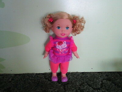 """Mattel FP Little Mommy """"Lets Make Music"""" interactive Doll-Records & Sings Back"""