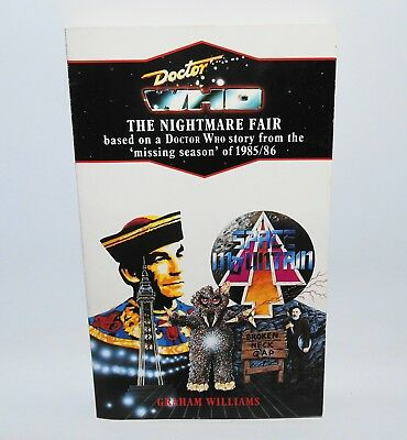Doctor Who The Nightmare Fair Virgin Blue Spine Target Book The Toymaker