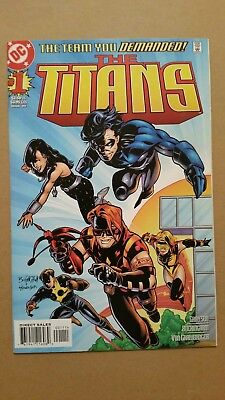 Titans #1 1st Appearance of Damian Darhk, Arrowverse