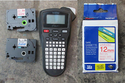 Brother P-Touch  Hand Held Labeller  + BONUS  3  TZe-232 Tapes