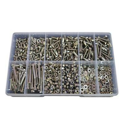 G304 Stainless M6 Metric Hex Bolt Nut Washer Assortment Kit Screw #87
